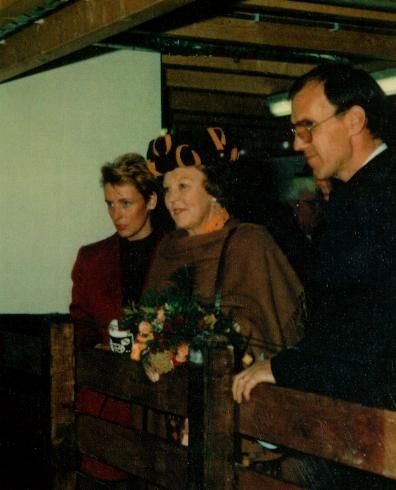 Opening door HM Koningin Beatrix